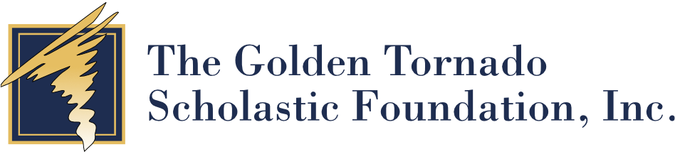 The Golden Tornado Scholastic Foundation logo
