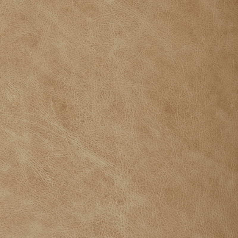 Wedding album leather swatch sample, irish cream