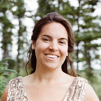 Portrait of Vanessa Noris on her wedding day