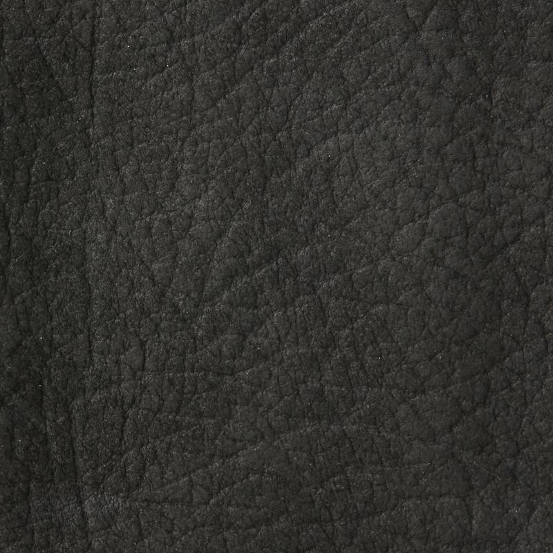 Wedding album leather swatch sample, charcoal