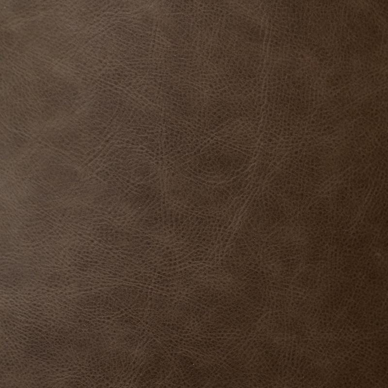 Wedding album leather swatch sample, chocolate