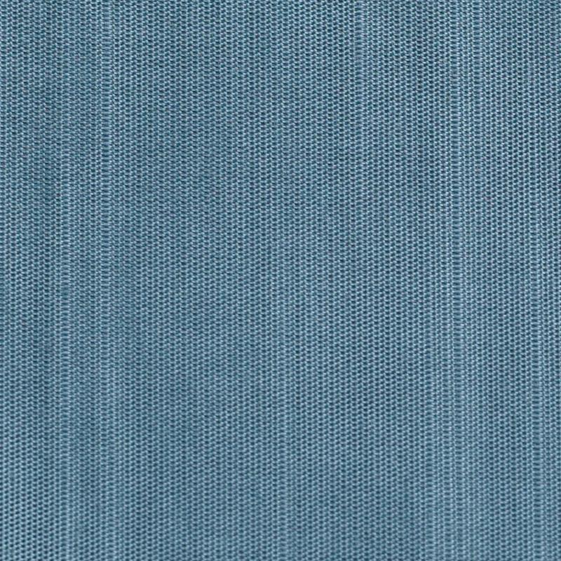 Wedding album fabric swatch sample, steel blue