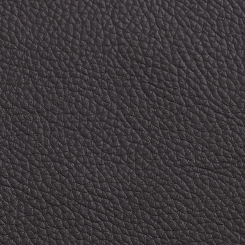 Wedding album leather swatch sample, black bean