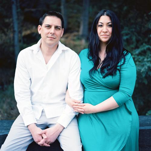 Engagement Photos With Cristina & James at Miles Canyon