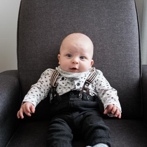 Our Son Wyatt Dressed to Impress