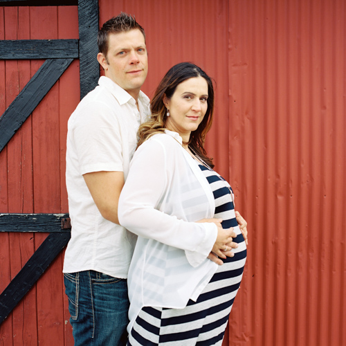 In Carcross for Beautiful Bump Photos With Melvin & Loren