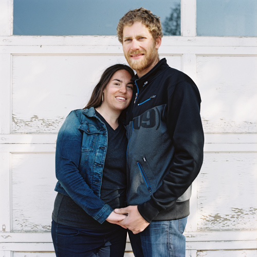 Vanessa & Toby's Engagement Photos in Jasper