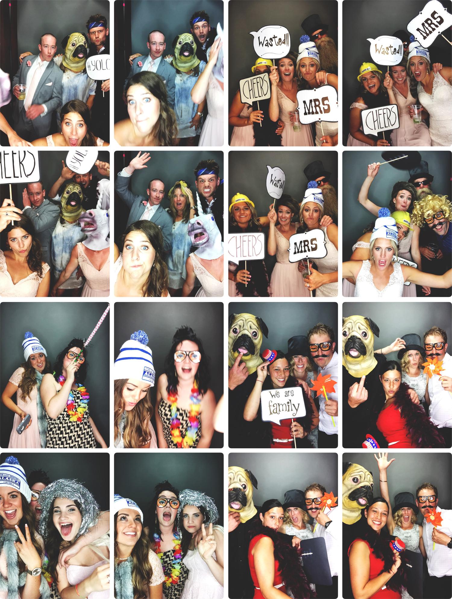 Kamloops wedding photo booth
