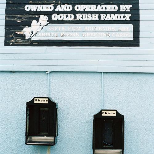Old Public Phones in Skagway
