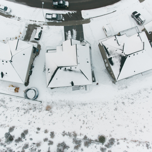 Bird's Eye View of My Brother's House