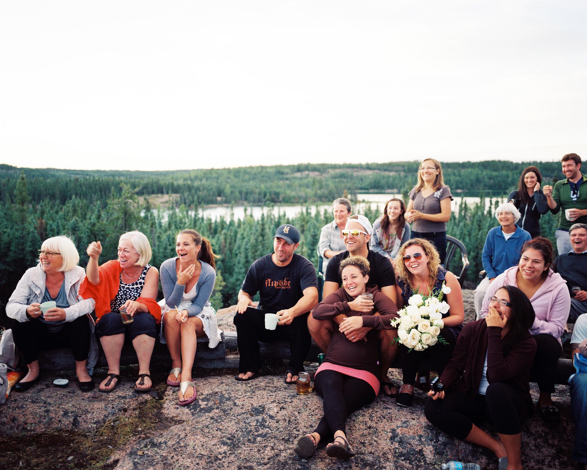 Post weeding day gathering