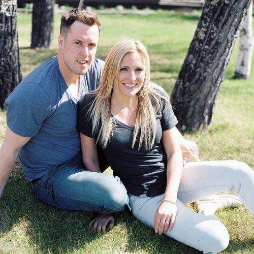 Erin & Adam's Downtown Whitehorse Engagement Photos