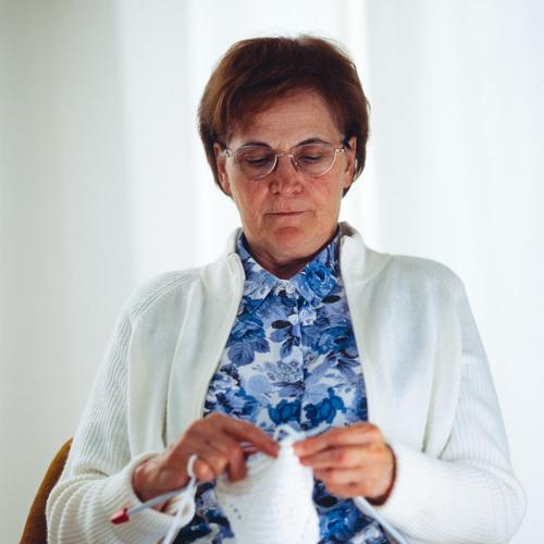 My Grandma Knitting