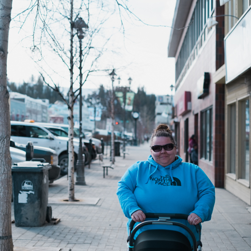 Getting Fresh Air in Downtown Whitehorse
