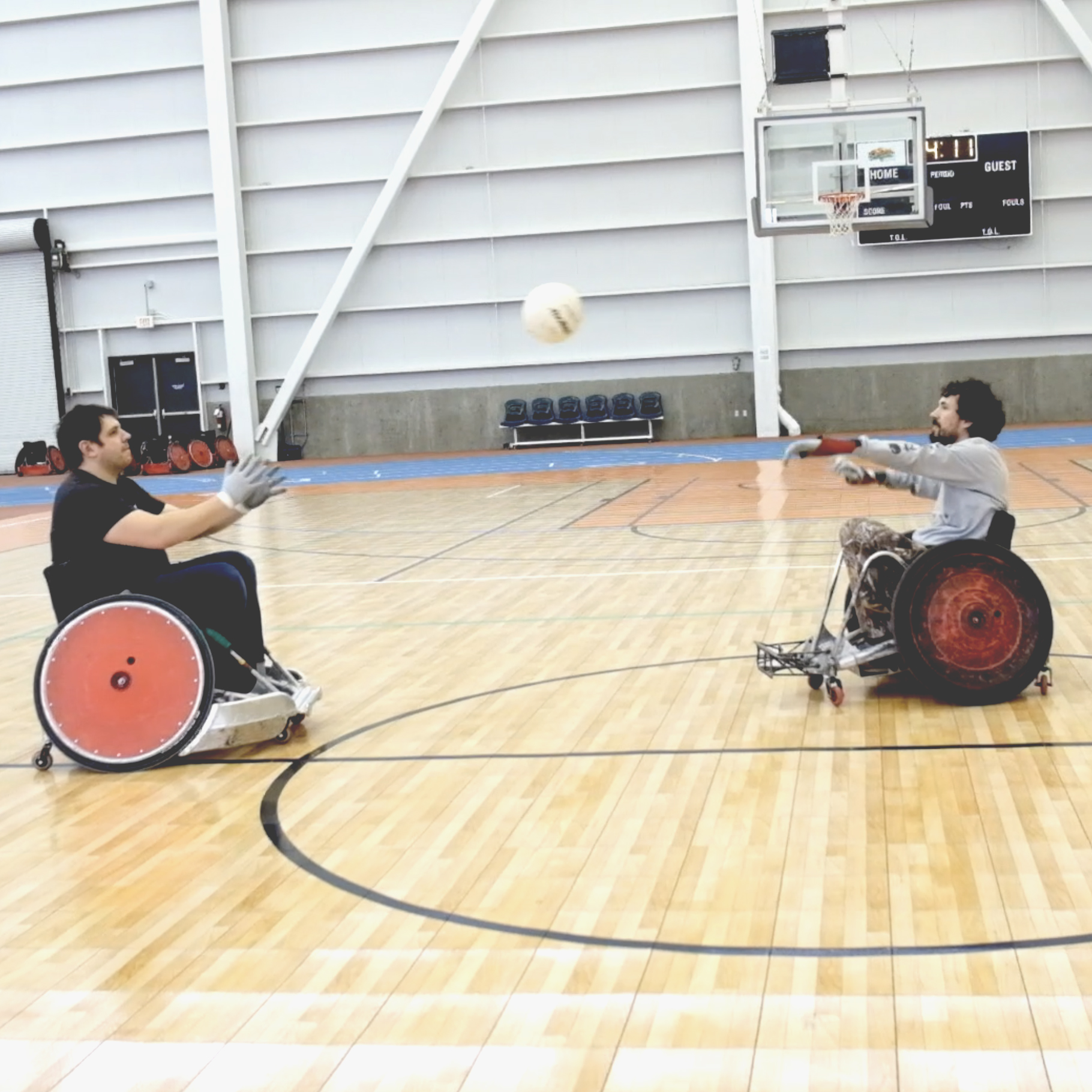 Learning How to Play Wheelchair Rugby