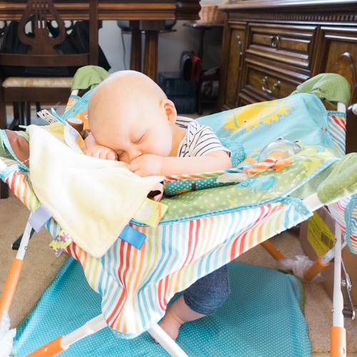 Our Son Wyatt Can Sleep Anywhere