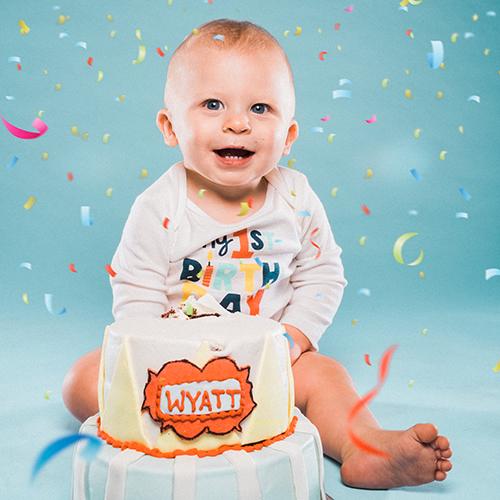 Wyatt turns 1!