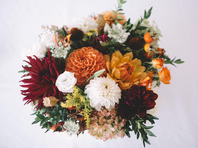 Detail photo of flowers in Kamloops at Hotel 540 wedding