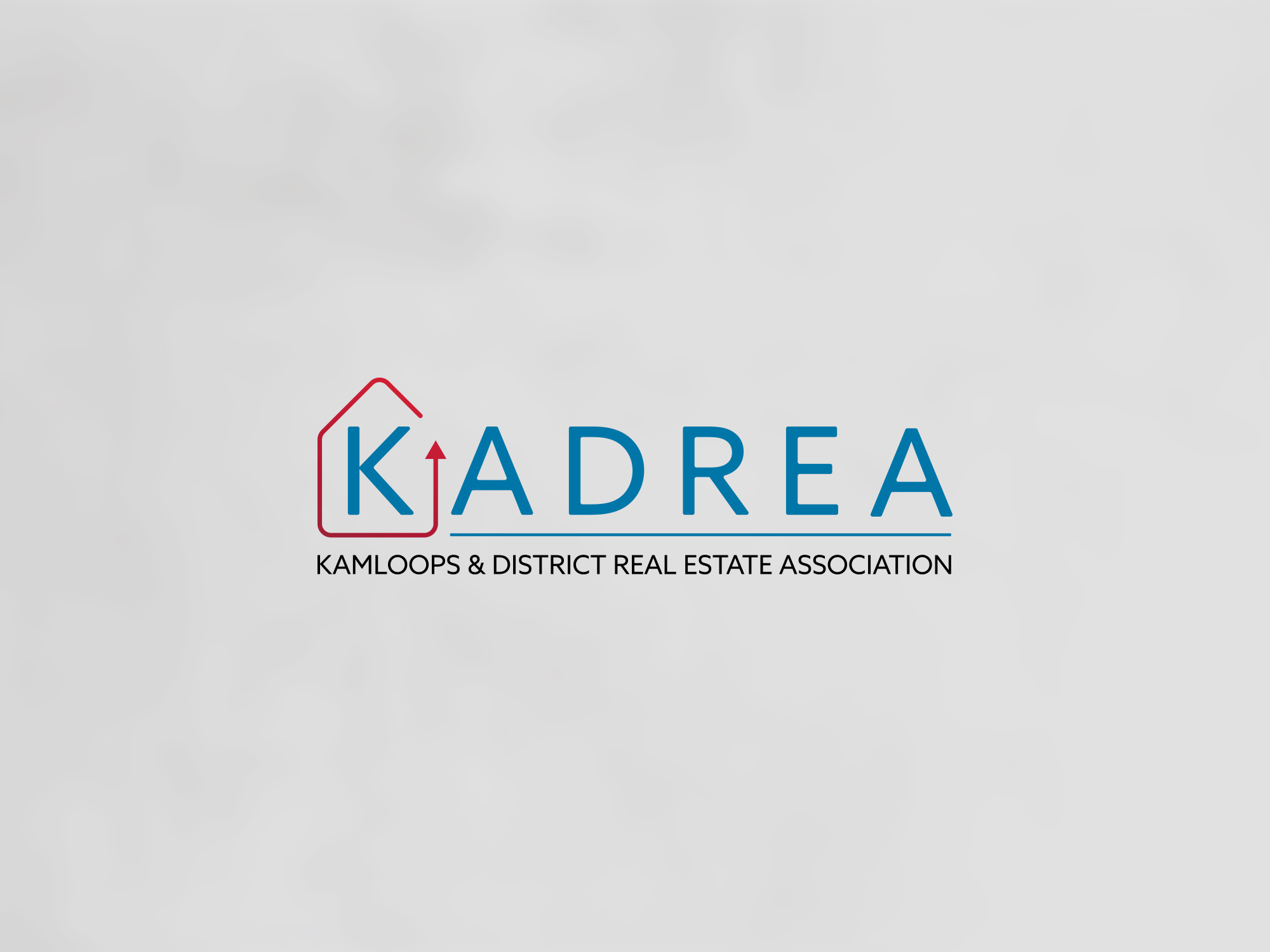 New logo design for the Kamloops and District Real Estate Association.