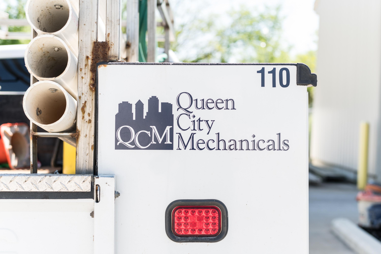 Queen City Mechanicals Plumbing Truck
