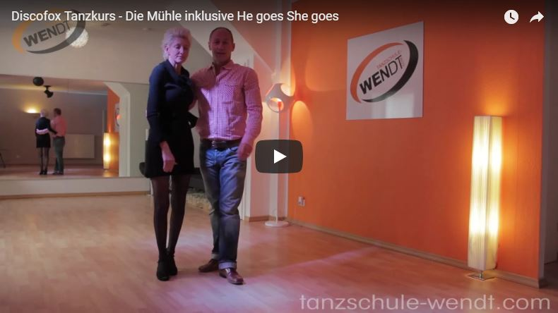 Tanzlehrer in Tanzschule bei Discofox Tanzkurs