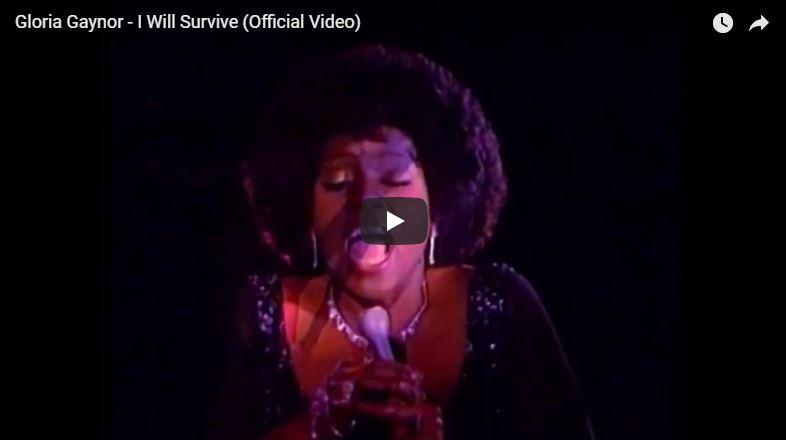 Gloria Gaynor singt