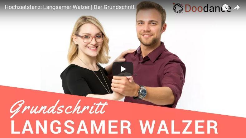 Grundschritt Langsamer Walzer Thumbnail YouTube