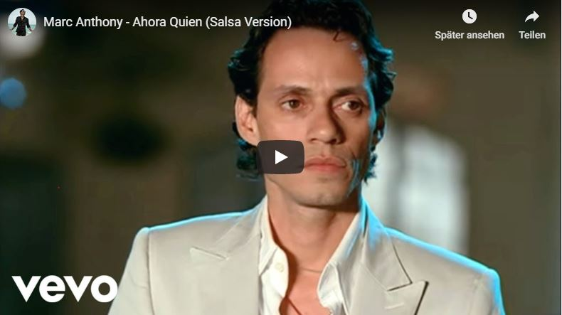 Marc Anthony in Musikvideo