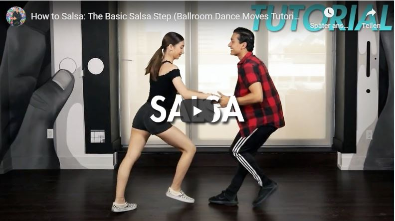 Salsa Grundschritt Video