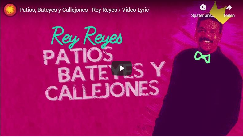 Rey Reyes Bid vor Magenta farbenem Hintergrund