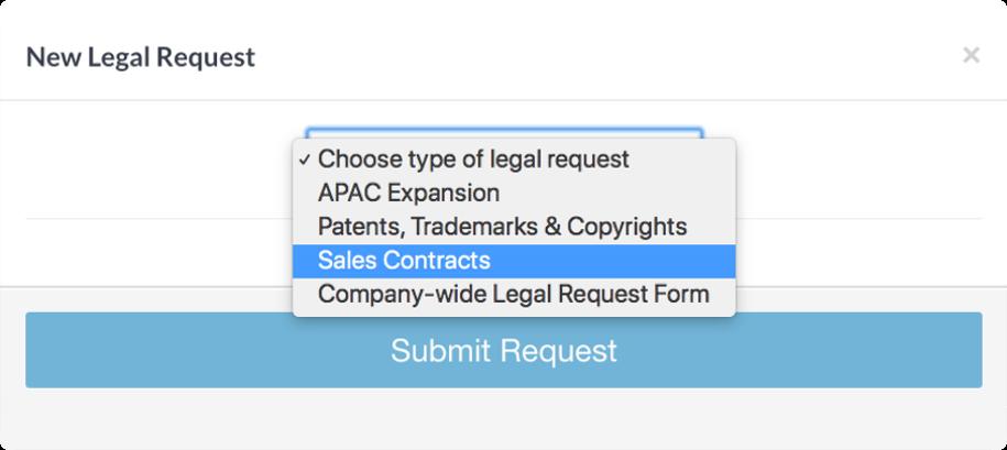 SimpleLegal Legal Requests