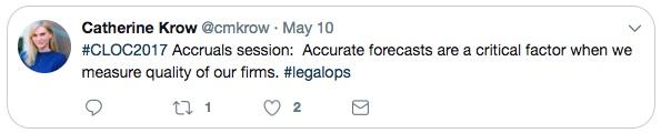 Forecasting Legal Accruals