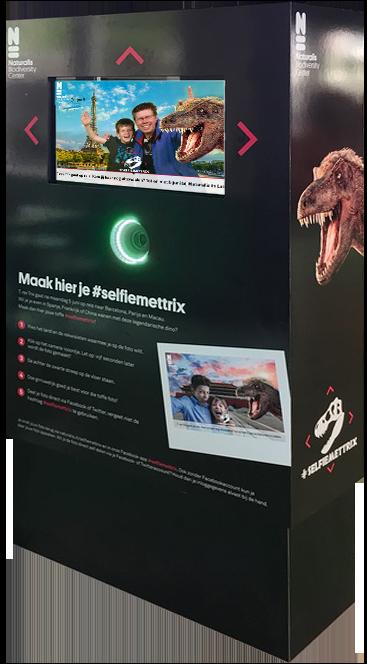 XL photobooth vrijstaand Funpix