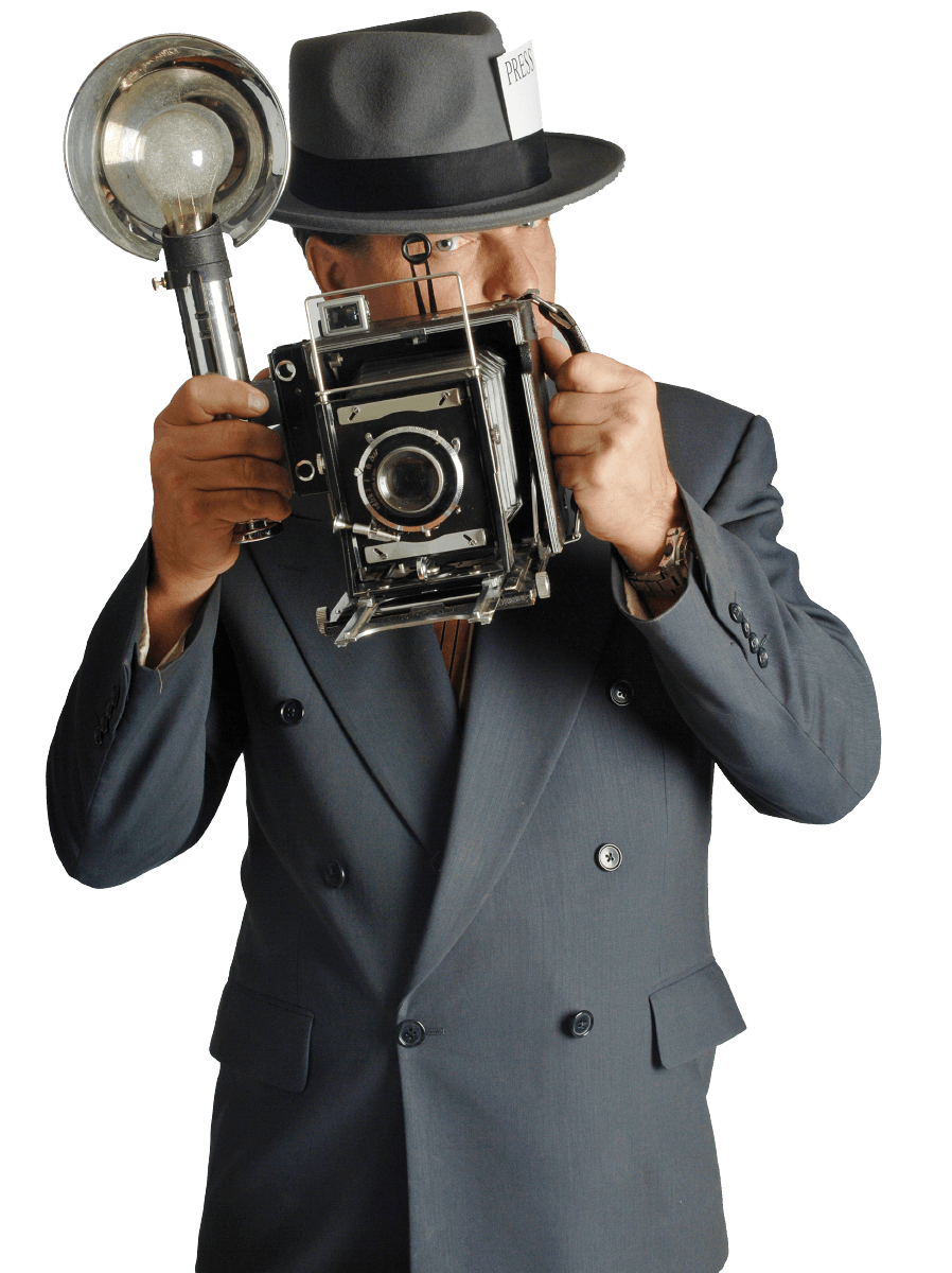 paparazzi fotograaf