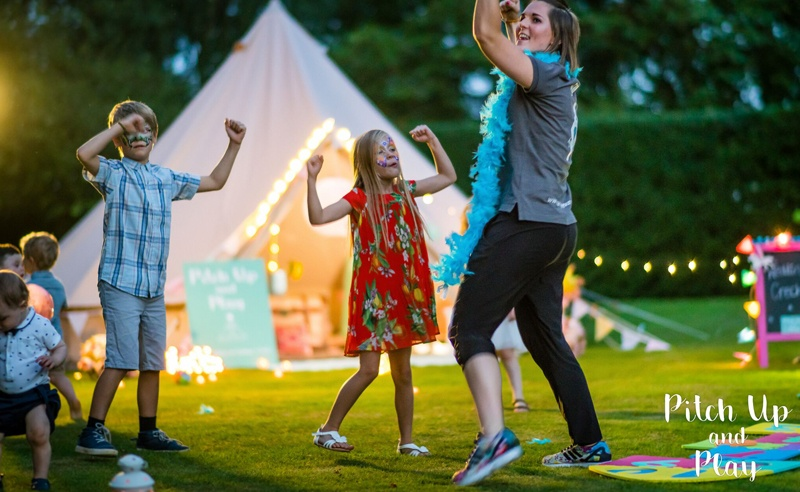 Kids wedding entertainment with Amy Young Dance