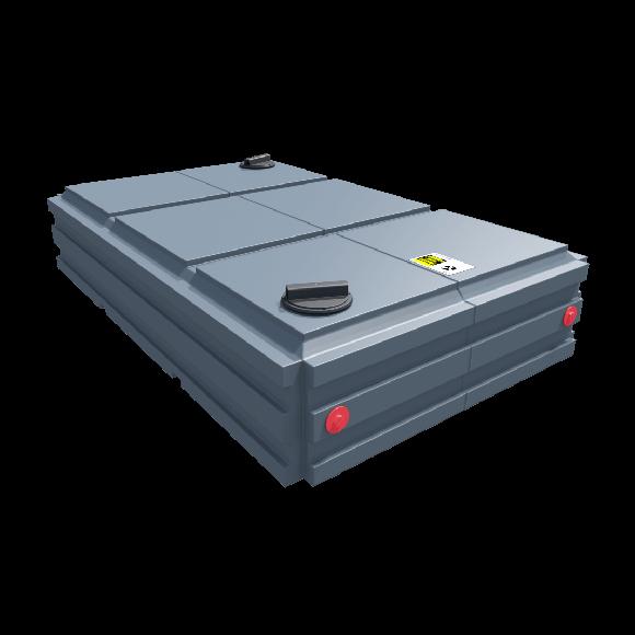 160 Gallon Flat Tank