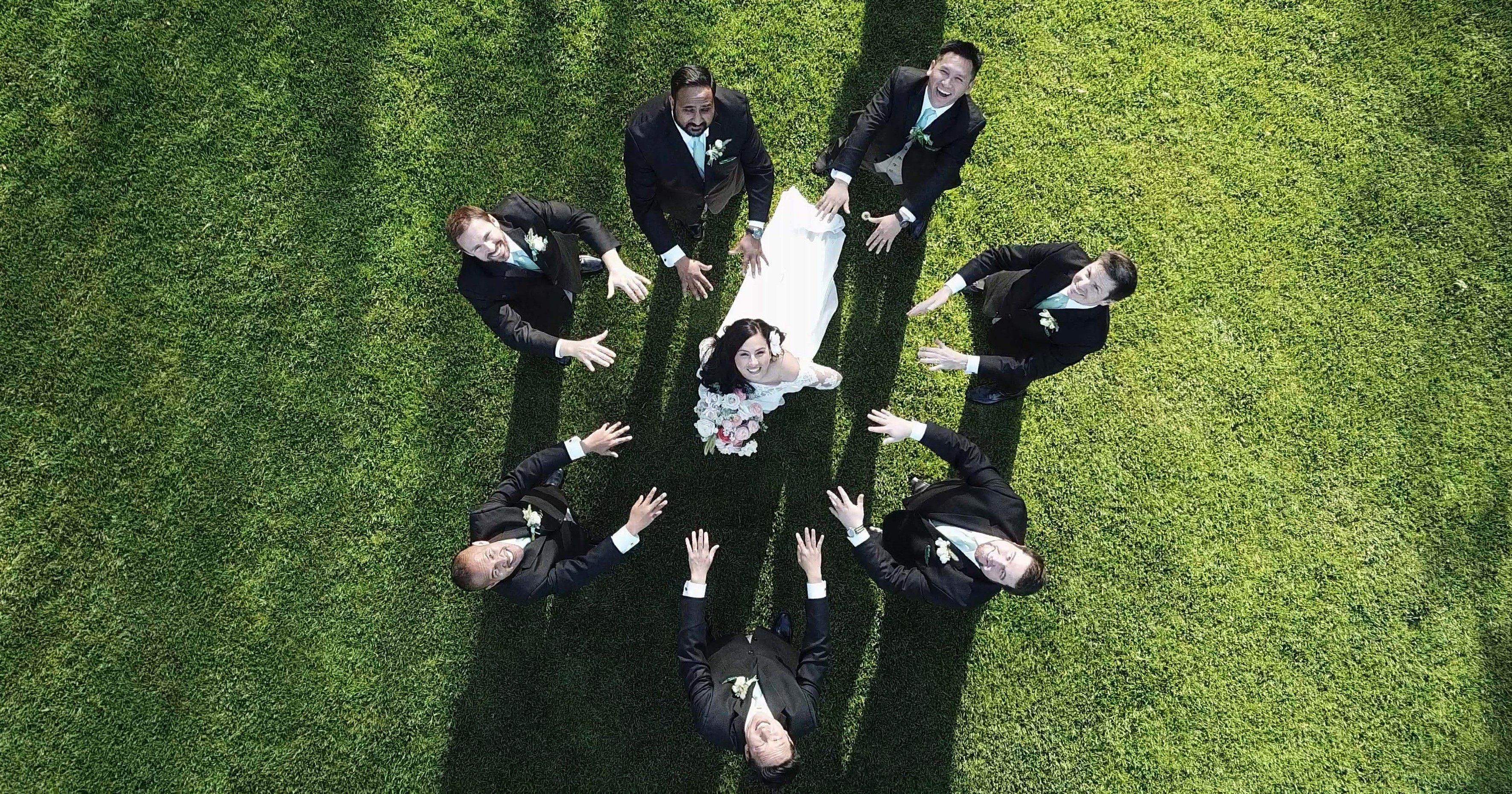 Drone Wedding Photography From Above