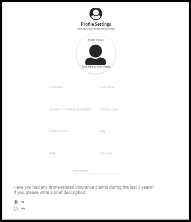 SkyWatch.AI Web Portal Screenshot