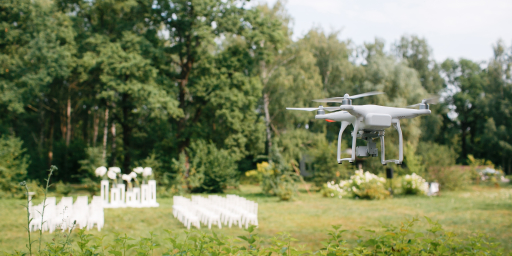 Article: Drone Wedding Photography - A Look From Above on The Happiest Day of Your Life