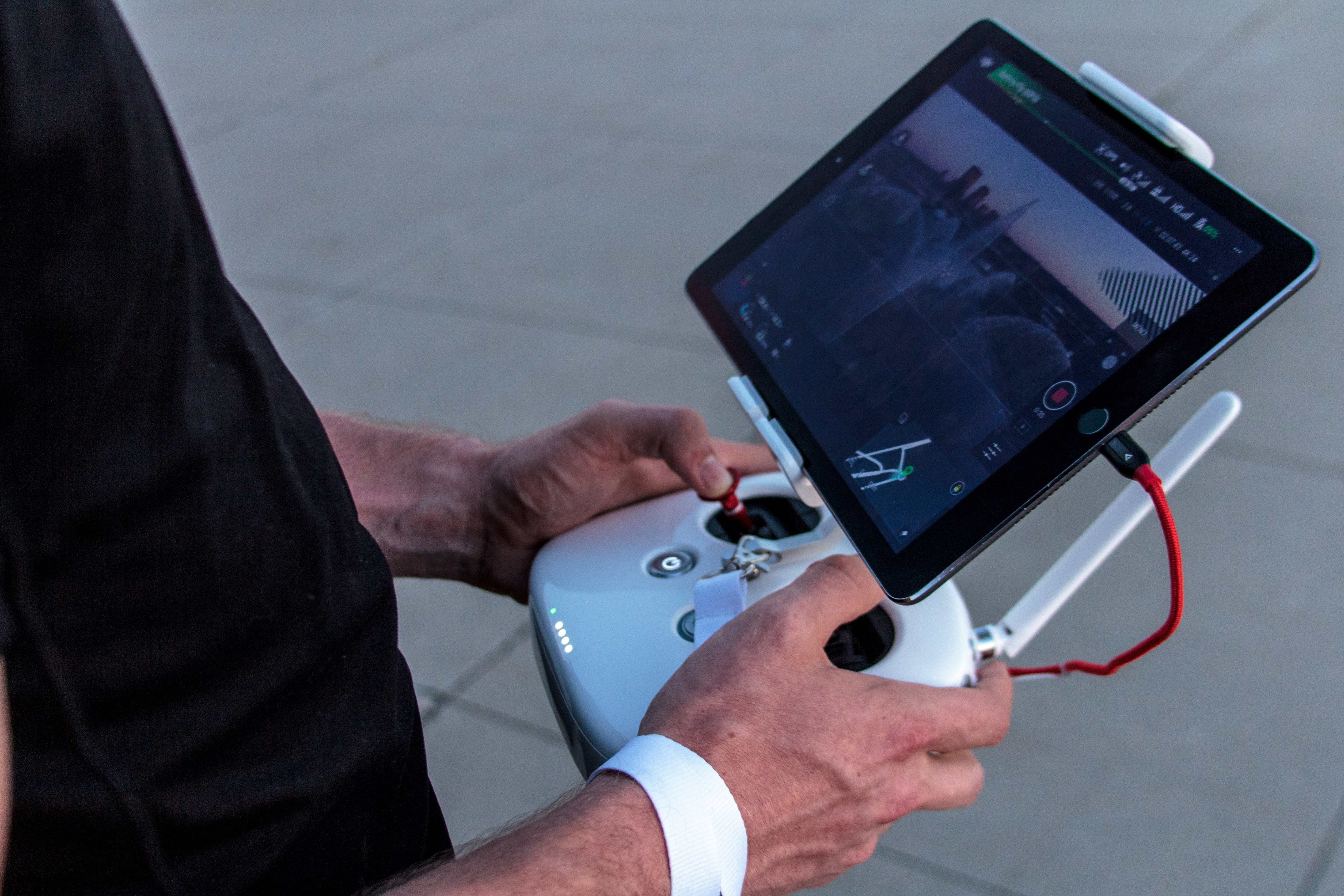 Drone Controller with Ipad