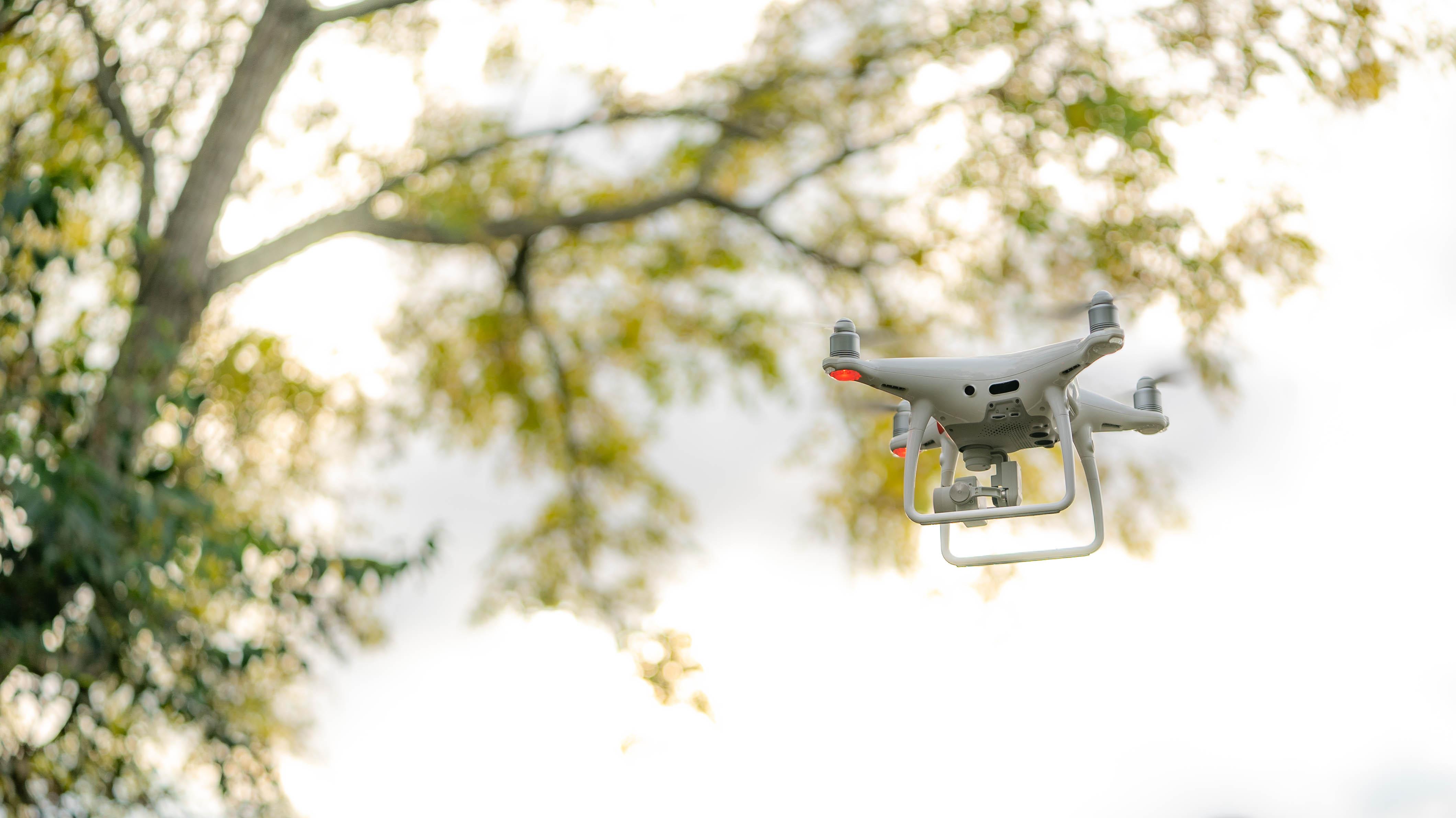 Drone in Tripod Mode