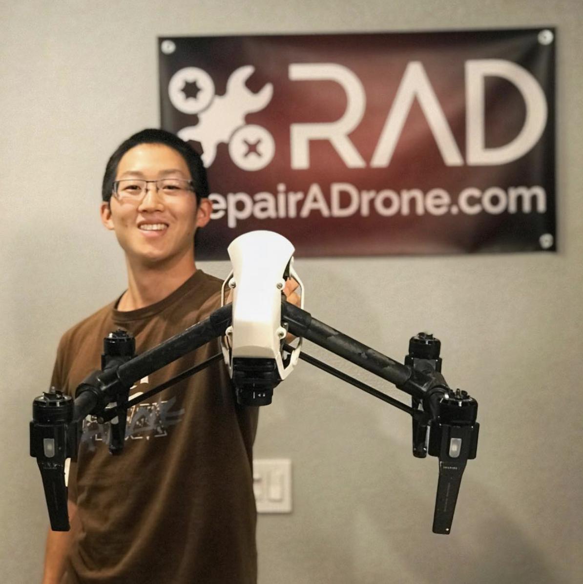 Han Tse, Owner of RepairADrone.com