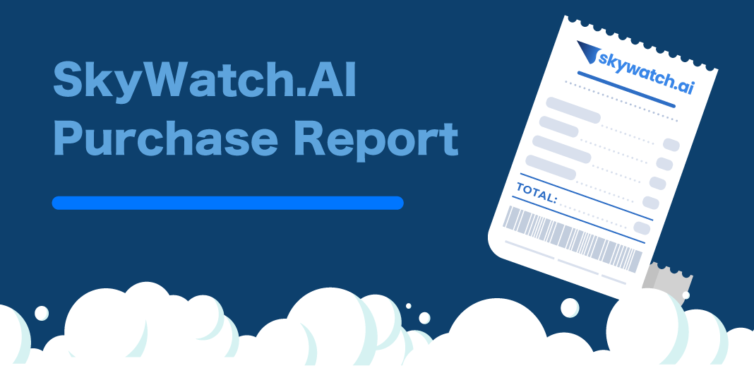 Tax Season Made Easy - SkyWatch.AI Purchase Report