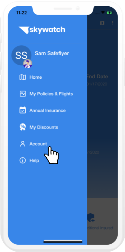 SkyWatch.AI Main Menu - App