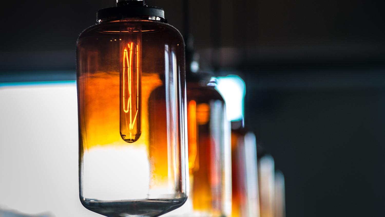 Bilde av lamper.