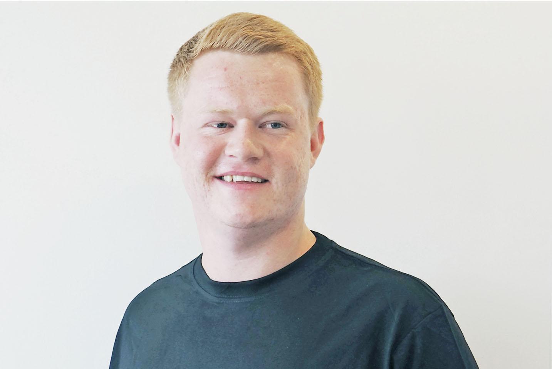 Johan Andreas Melhus (23) er nyansatt servicemontør for Norelco