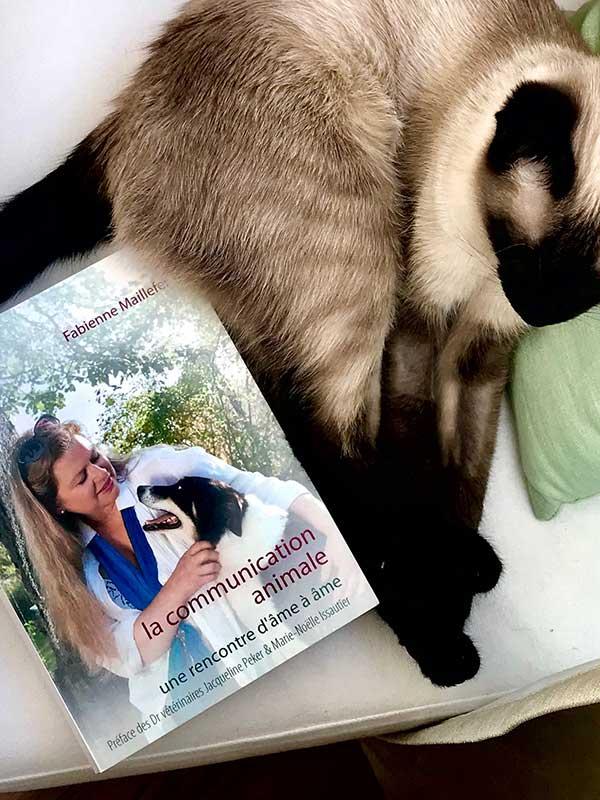 Blog Littéraire - La communication animale, une rencontre d'âme à âme de Fabienne Maillefer - Suivre sa Joie - Saskia Parein