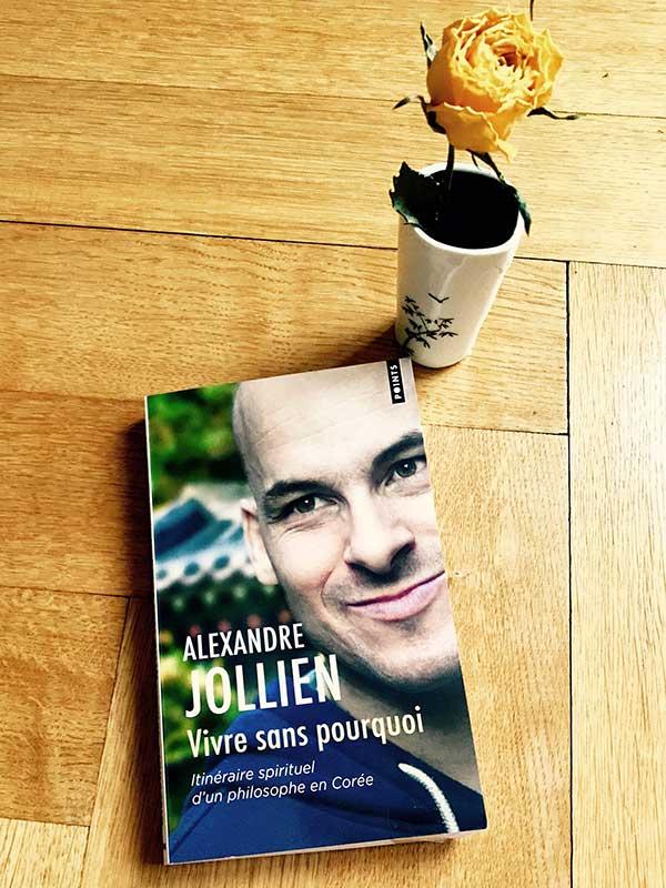 Blog Littéraire - Vivre sans pourquoi de Alexandre Jollien - Suivre sa Joie - Saskia Parein