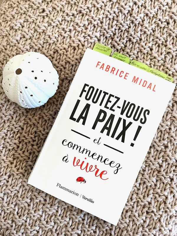 Blog Littéraire - Foutez-vous la paix de Fabrice Midal - Suivre sa Joie - Saskia Parein