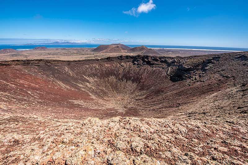 Blog Lifestyle - Le cratère d'un volcan - Suivre sa Joie - Saskia Parein